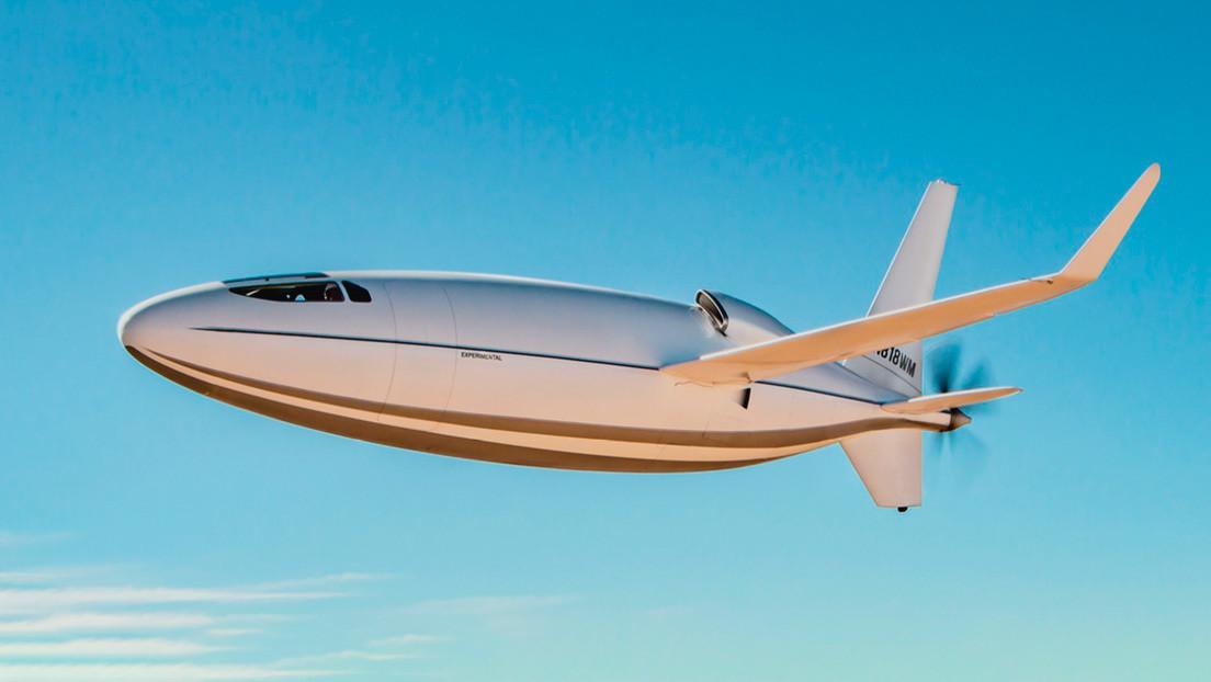 VIDEO: Presentan el Celera, un avión comercial de pasajeros con forma de bala