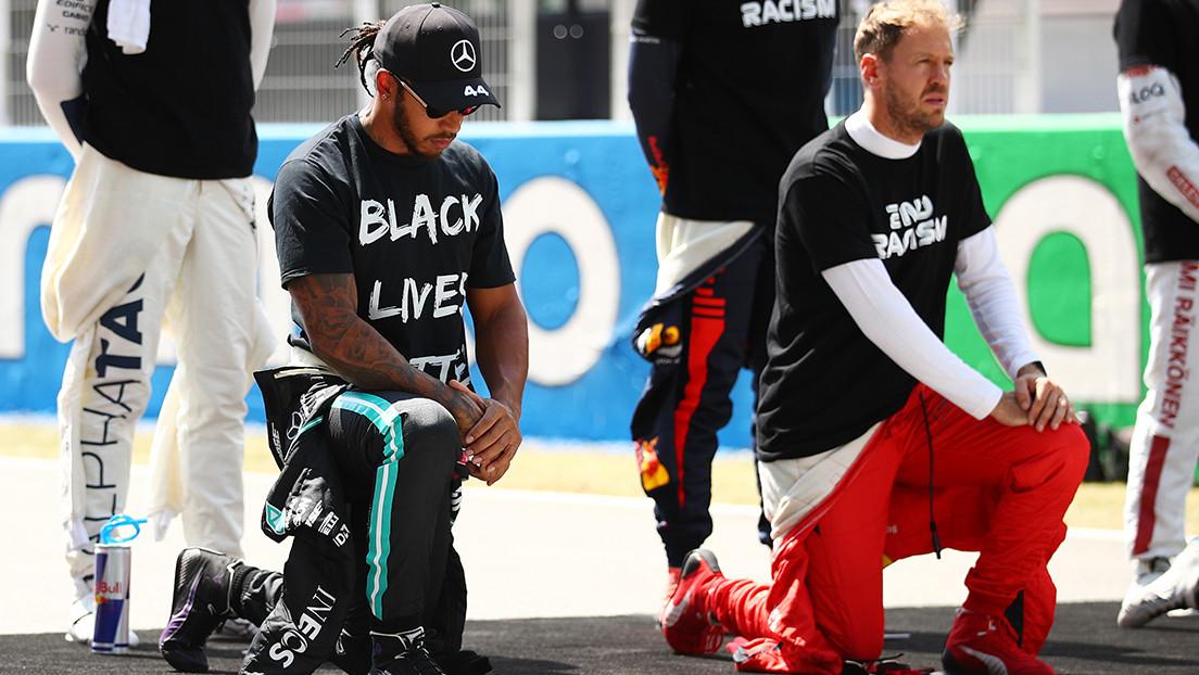Lewis Hamilton publica una impactante imagen con la que compara la esclavitud y el racismo en EE.UU. (FOTO)