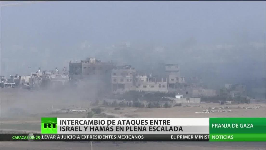 Israel y Hamás intercambian ataques en la frontera palestino-israelí
