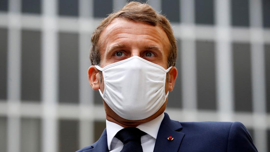 """Macron afirma haber adoptado una política """"de línea roja"""" con respecto a las acciones de Turquía en el Mediterráneo"""
