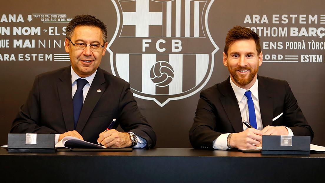 """""""O es para renovar o no hay nada que negociar"""": Lo que habría respondido el Barça al pedido de Messi de una reunión con los directivos del club"""