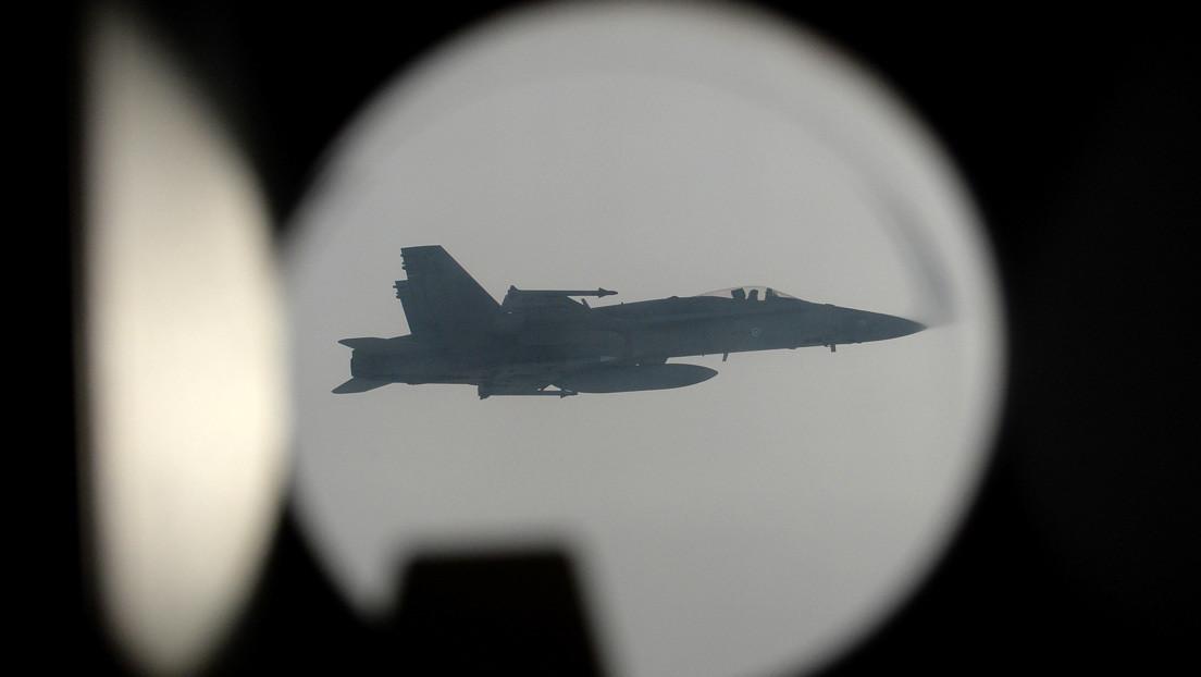 Cazas de la OTAN escoltan a aeronaves rusas que participaban en ejercicios militares sobre el mar Báltico y los océanos Ártico y Pacífico