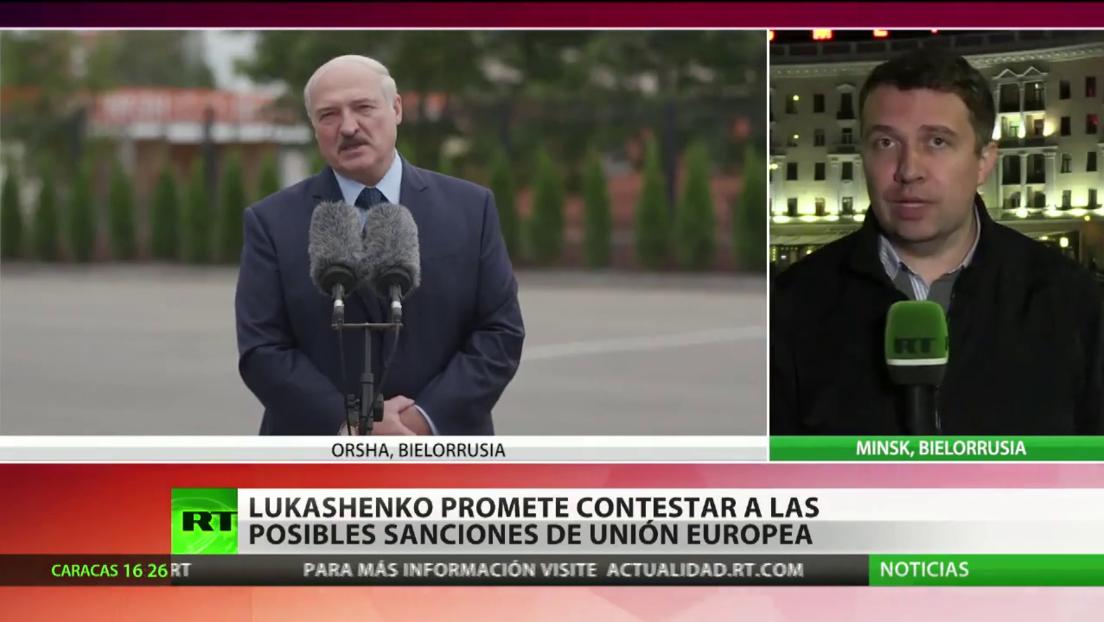 Macron se manifiesta contra toda intervención en la actual situación de Bielorrusia