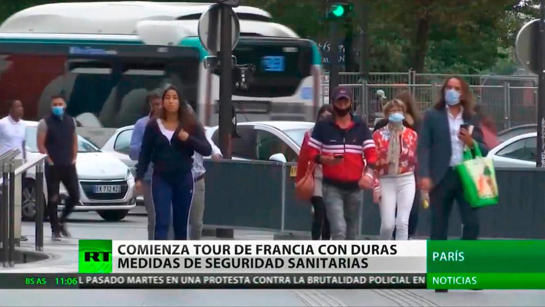 Coronavirus en Europa: la peor semana de la segunda ola en España, Tour de France con restricciones y protestas en Alemania