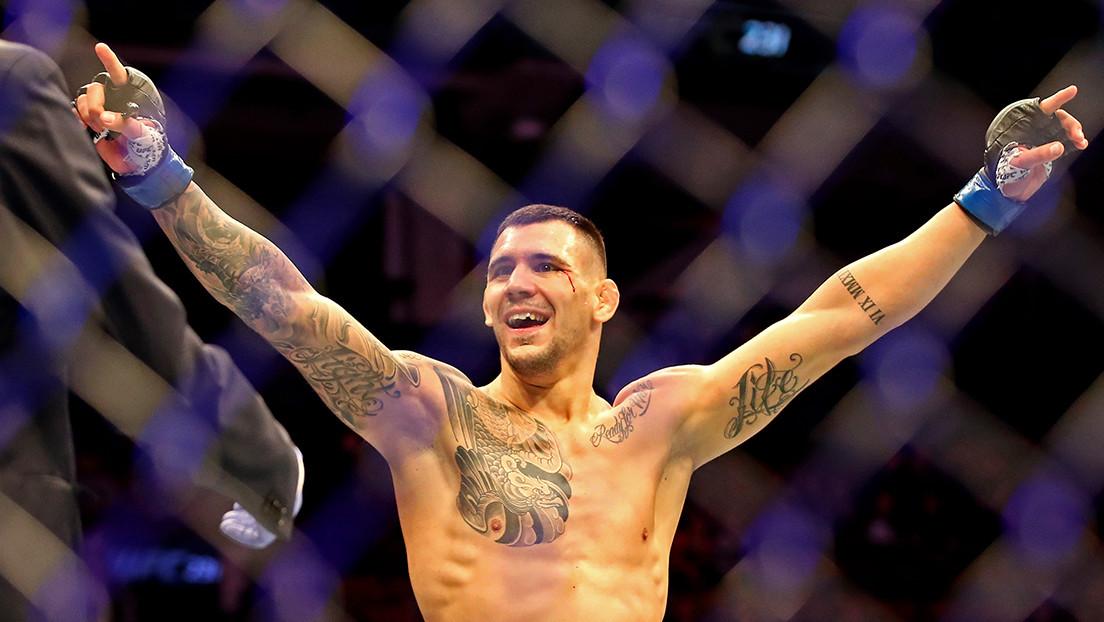 """VIDEO: Aleksandar Rakic gana la pelea estelar de la UFC con """"dominio total"""" y se perfila para el título de los semipesados"""