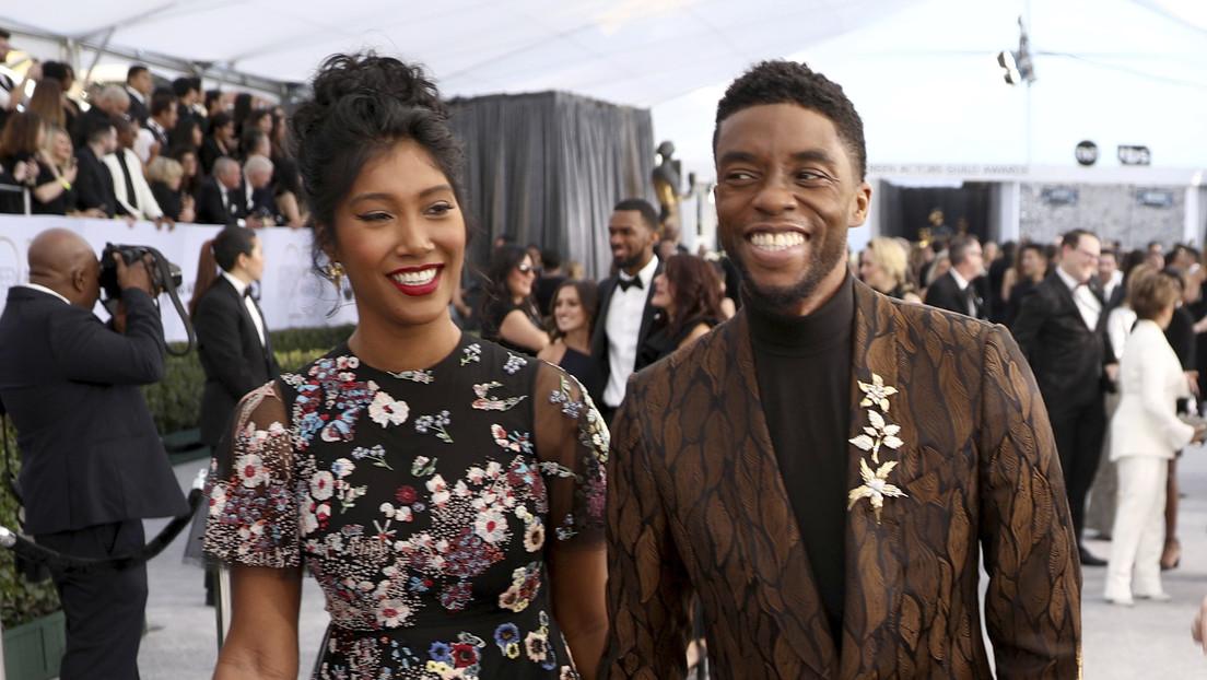 Revelan que Chadwick Boseman se había casado unos meses antes de su muerte