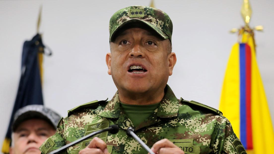 El comandante de las Fuerzas Militares de Colombia anuncia una ofensiva para frenar las masacres en el país
