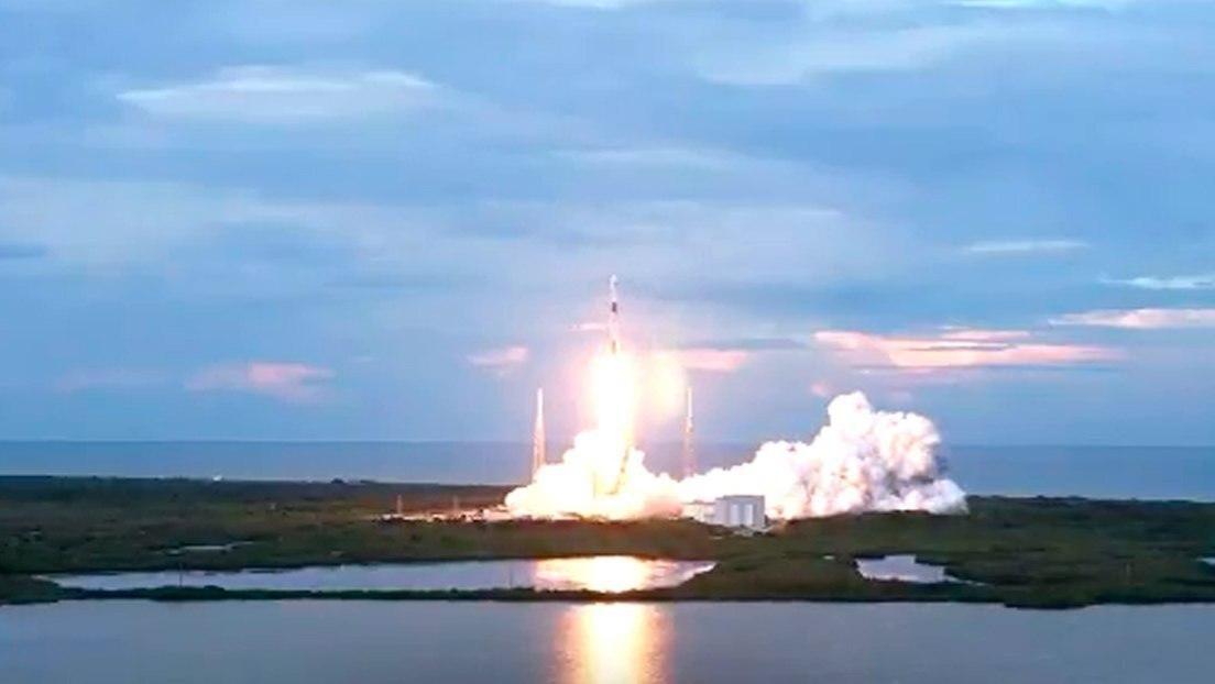 VIDEO: SpaceX lanza el cohete Falcon 9 con el satélite argentino de observación por radar SAOCOM 1B