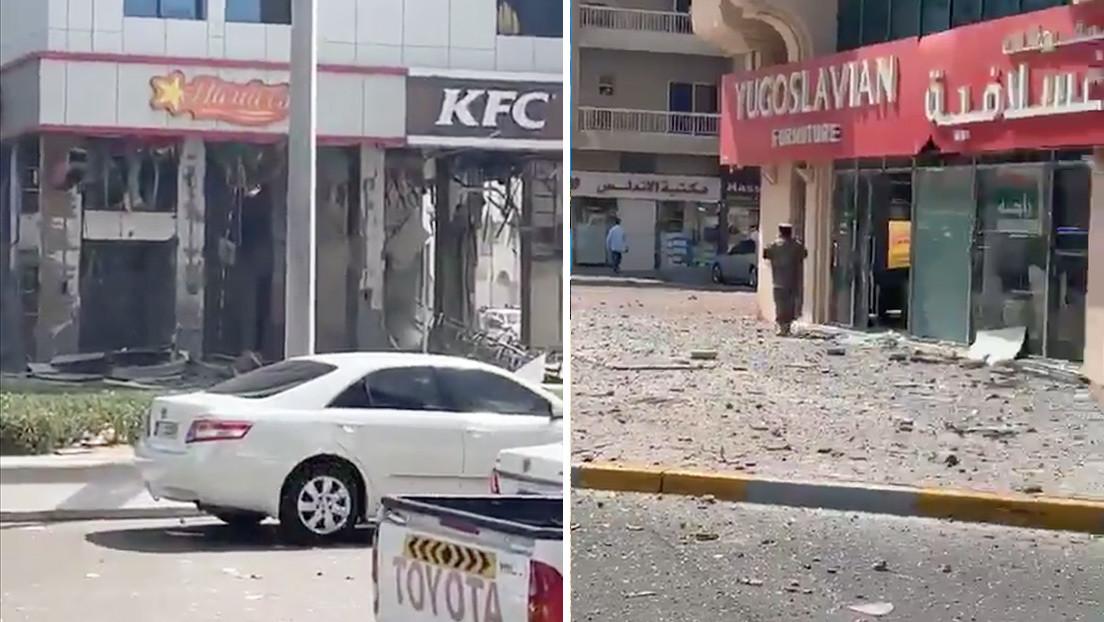 VIDEO, FOTOS: Dos explosiones en los Emiratos Árabes Unidos dejan tres muertos y varios heridos