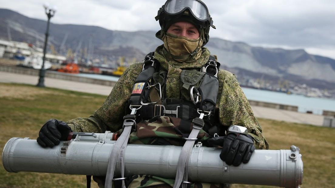 VIDEO: El consorcio ruso Kaláshnikov presenta el misil guiado antitanque Vijr-1
