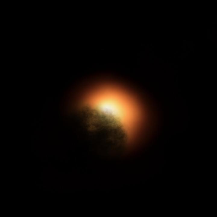 Hubble arroja luz sobre el oscurecimiento de la supergigante roja Betelgeuse