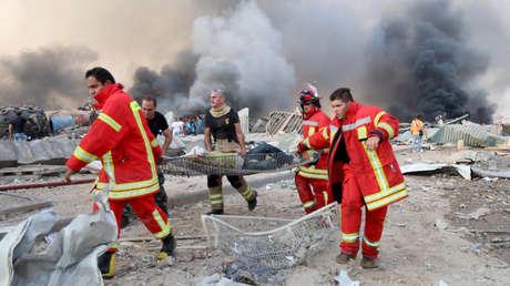 Revelan la causa de la enorme explosión en el puerto de Beirut