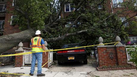 Nueva York declara el estado de emergencia parcial tras el paso de la tormenta tropical Isaías