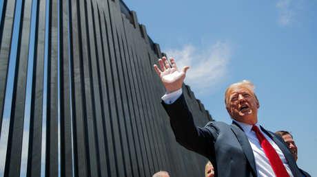 Trump afirma que el muro en la frontera con México ayuda a proteger a EE.UU. del coronavirus