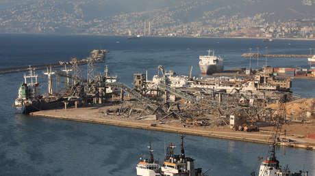 Difunden una foto del supuesto material explosivo apilado sin seguridad donde se habría originado la explosión en Beirut
