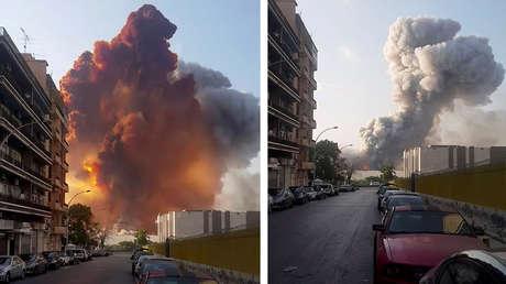 Président du Liban: La cause de l'explosion est encore inconnue, la participation de forces extérieures, d'un missile ou d'une bombe n'est pas exclue