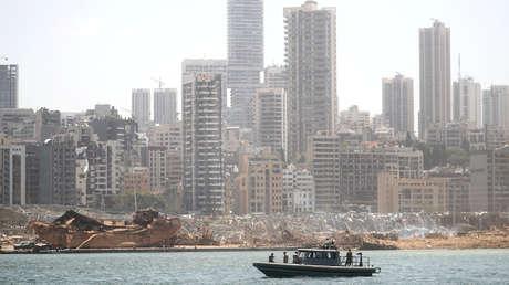 Localizan el barco que transportó el material explosivo supuestamente responsable de la tragedia en Beirut (FOTO)