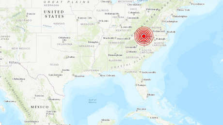 EE.UU.: Se produce un terremoto de magnitud 5,1 en Carolina del Norte (VIDEO)