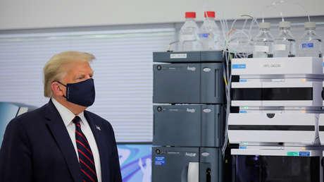 """Trump: """"Estamos muy cerca de la aprobación de una vacuna contra el covid-19"""""""