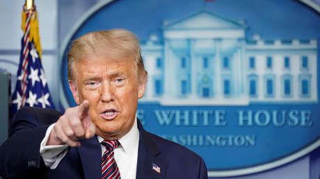 """Trump anuncia que ordenó realizar """"pagos directos a todos los estadounidenses"""": 3.400 dólares para las familias de cuatro miembros"""