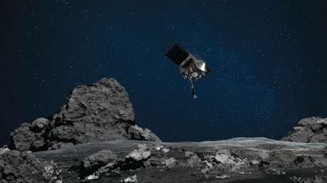 Una sonda de la NASA prueba un aterrizaje en el asteroide Bennu, que en el futuro podría chocar con la Tierra