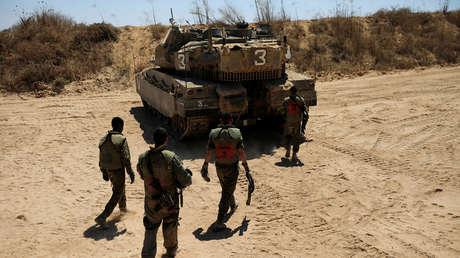 Tanques israelíes atacan posiciones de Hamás en Gaza