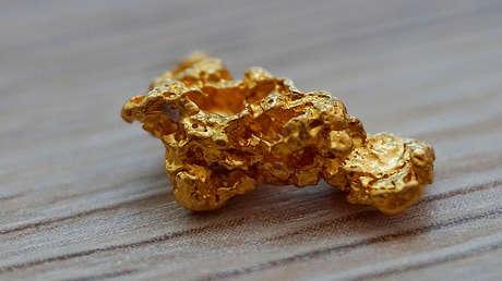 """Una familia buscadora de tesoros encuentra dos pepitas de oro de un tamaño """"nunca visto"""" (FOTOS)"""