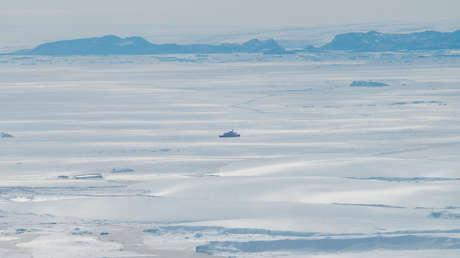 Detectan en la Antártida derretimiento de hielos provocado por una corriente cálida