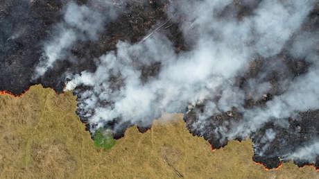 """El vicepresidente de Brasil minimiza los incendios en la Amazonía y dice que son """"una aguja en un pajar"""""""