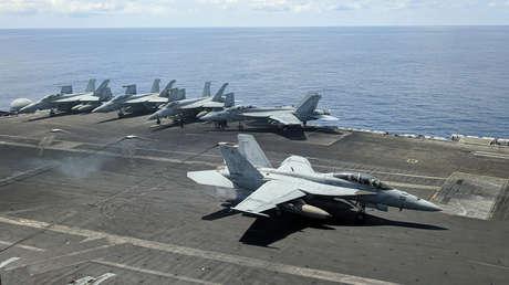 """La Casa Blanca afirma que EE.UU. """"siempre se reserva el derecho"""" de navegar y sobrevolar el mar de China Meridional y tilda a Pekín de """"muy agresivo"""""""