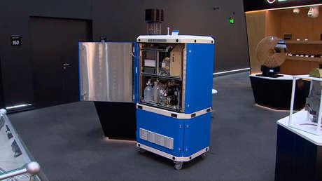 VIDEO: Crean en Rusia un aparato capaz de detectar el covid-19 y otros patógenos en el aire