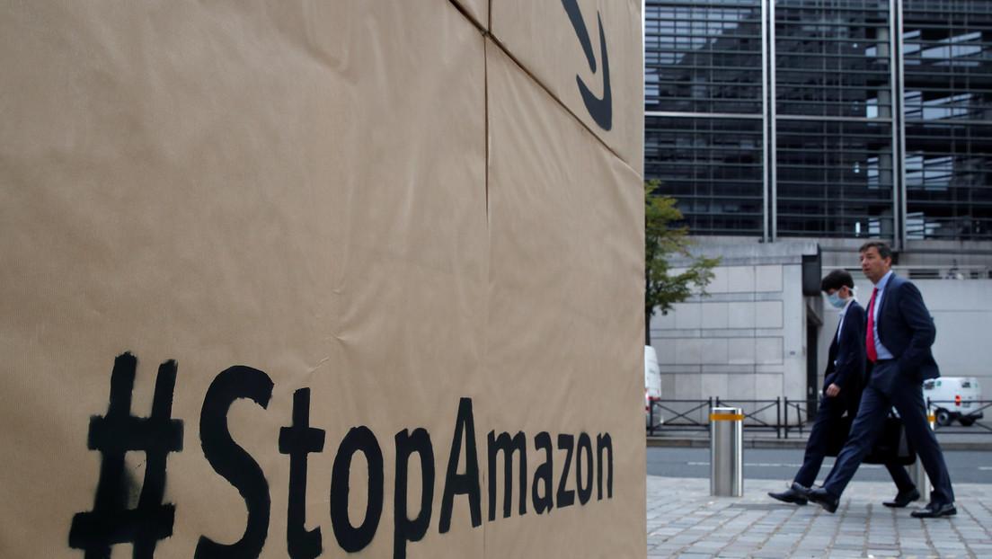 """Amazon retira una polémica oferta de empleo en la que requería informar sobre """"amenazas"""" sindicales"""