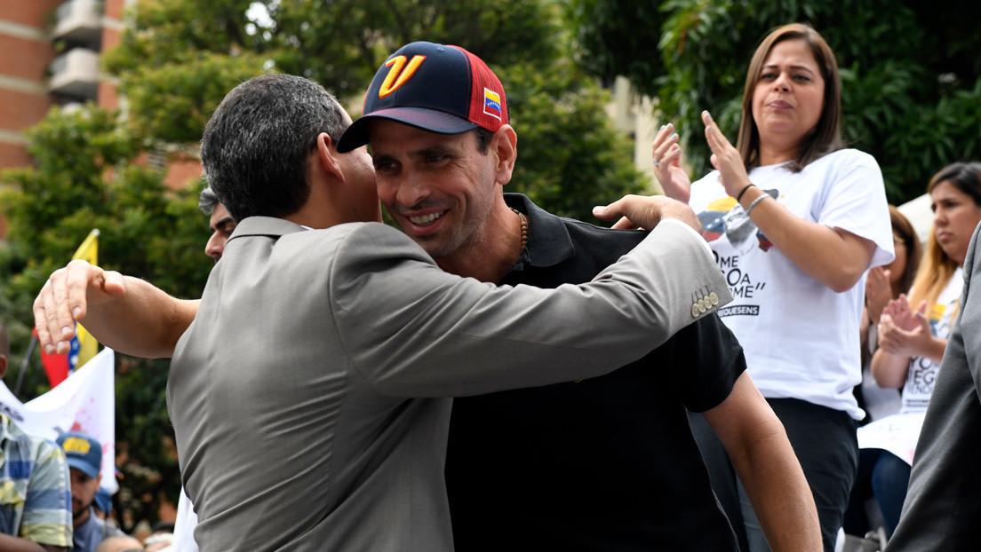 """Capriles se desmarca definitivamente de Guaidó: """"Hablaremos con todo el que sea necesario para sacar a los venezolanos de esta crisis"""""""