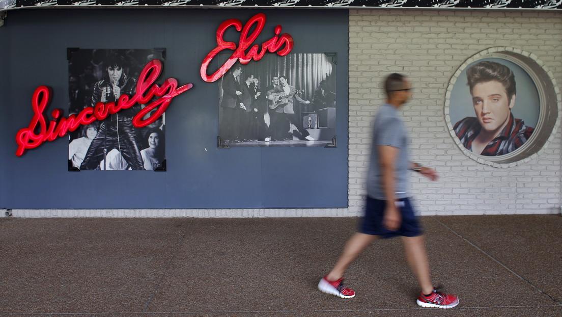 Pintan grafitis de 'Black Lives Matter' en la casa de Elvis Presley en Memphis (FOTOS)