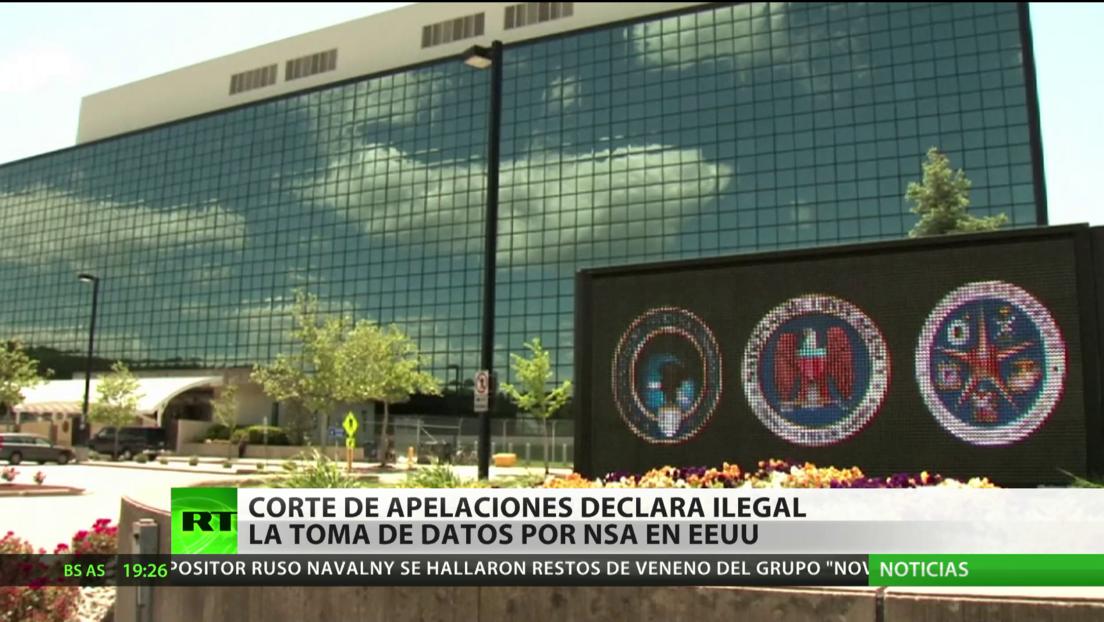 Corte de apelaciones en EE.UU. declara ilegal la toma de datos por la Agencia de Seguridad Nacional