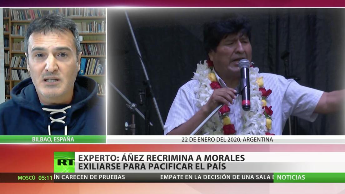 Bolivia planea denunciar al Gobierno argentino por apoyar a Evo Morales