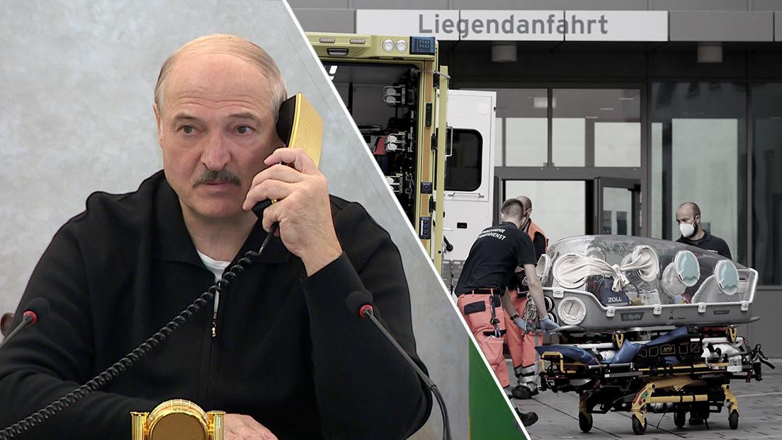 Lukashenko afirma haber interceptado una conversación entre Varsovia y Berlín sobre la falsificación del envenenamiento de Navalny