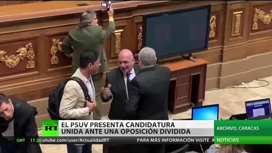 Venezuela: El PSUV presenta una candidatura unida para las elecciones parlamentarias