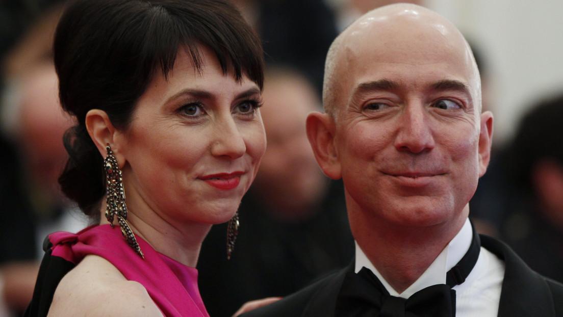 La exesposa del fundador de Amazon se convierte en la mujer más rica del mundo