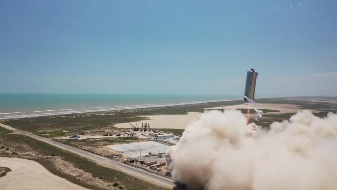 Prueban con éxito el prototipo de la nave espacial diseñada por SpaceX para ir a Marte (VIDEO)