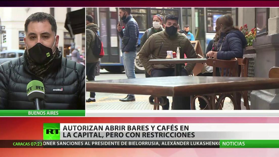 Buenos Aires permite reuniones en espacios exteriores pero con restricciones
