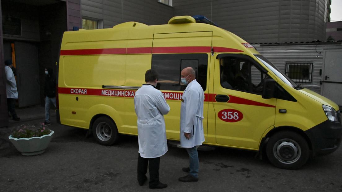 """Médico ruso cuestiona el presunto envenenamiento de Navalny: """"Sus riñones, pulmones e hígado no estaban dañados"""""""