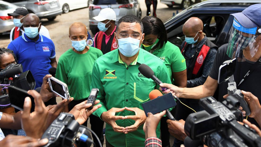Aplastante victoria del partido en el poder en Jamaica en las elecciones generales
