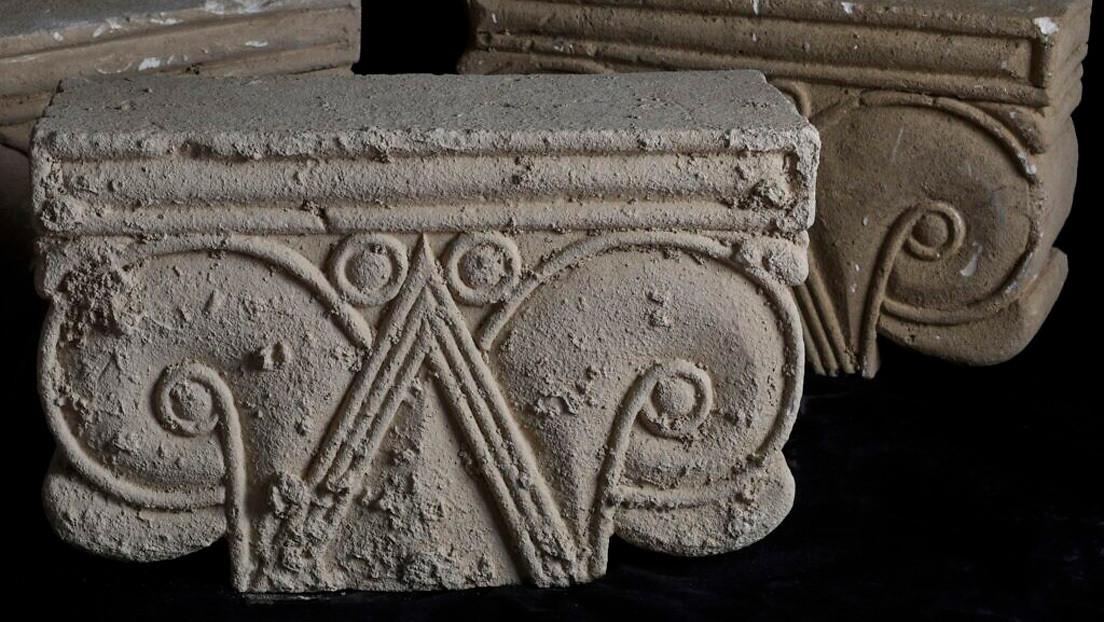 """Descubren piedras talladas de """"una magnífica estructura real"""" de la época del reino de Judá en Jerusalén"""