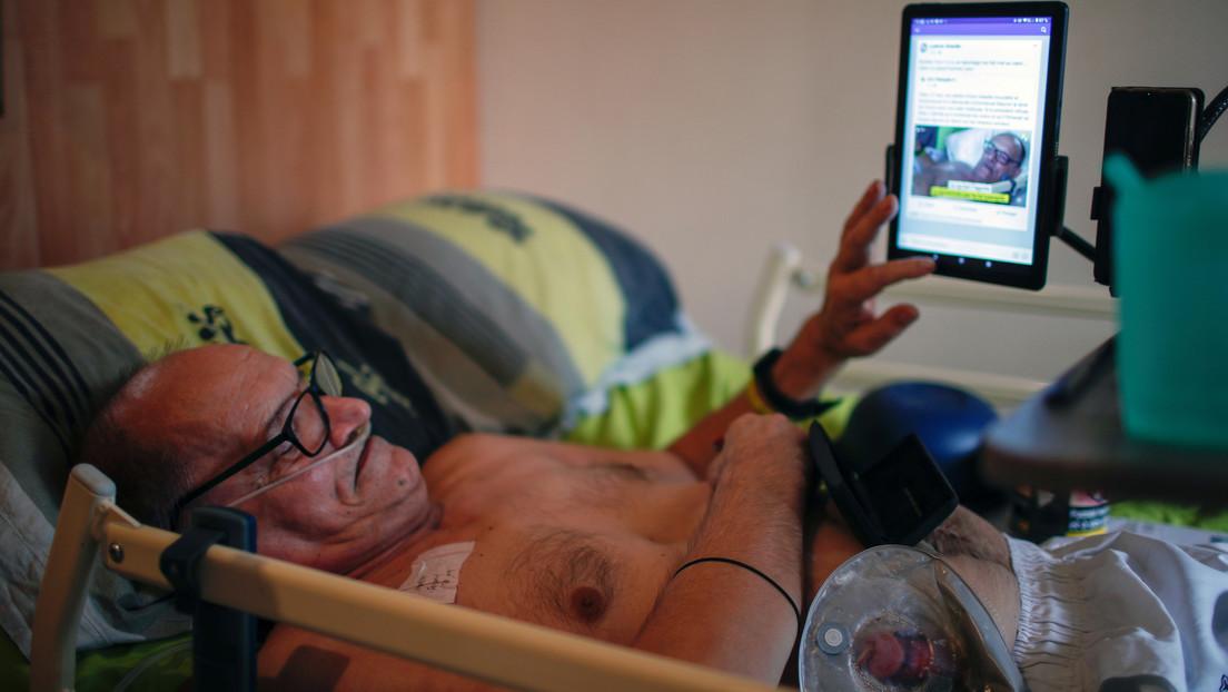 Un francés promete transmitir en vivo su muerte después de que Macron le negara la eutanasia