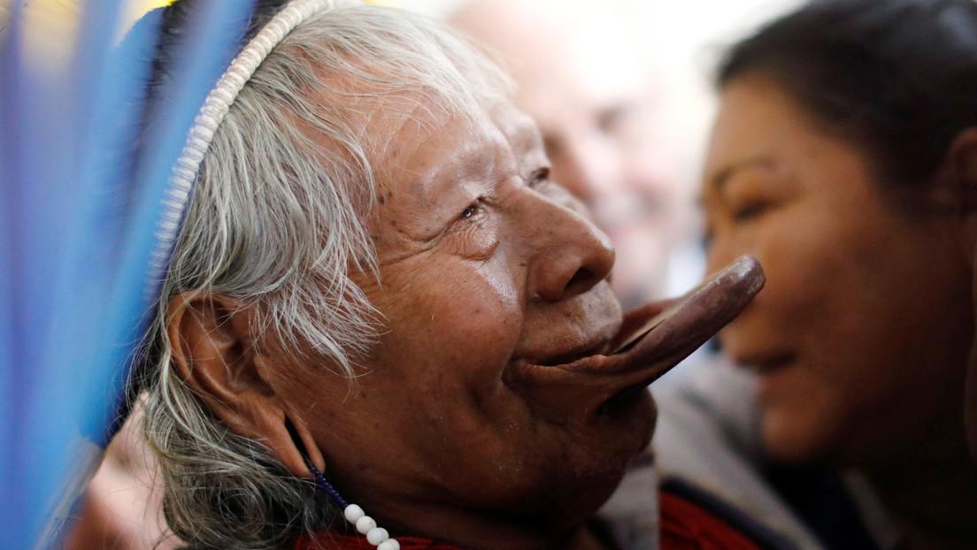 El líder indígena brasileño Raoni Metuktire, de 89 años, es dado de alta del hospital tras superar el coronavirus