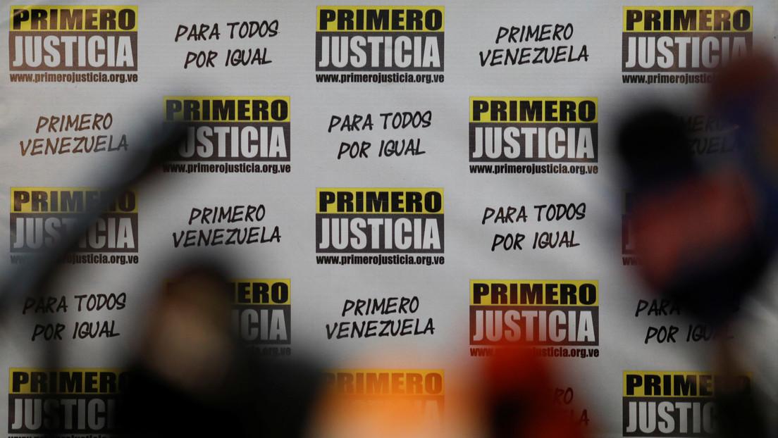 Tribunal Supremo de Venezuela suspende la intervención del partido opositor Primero Justicia