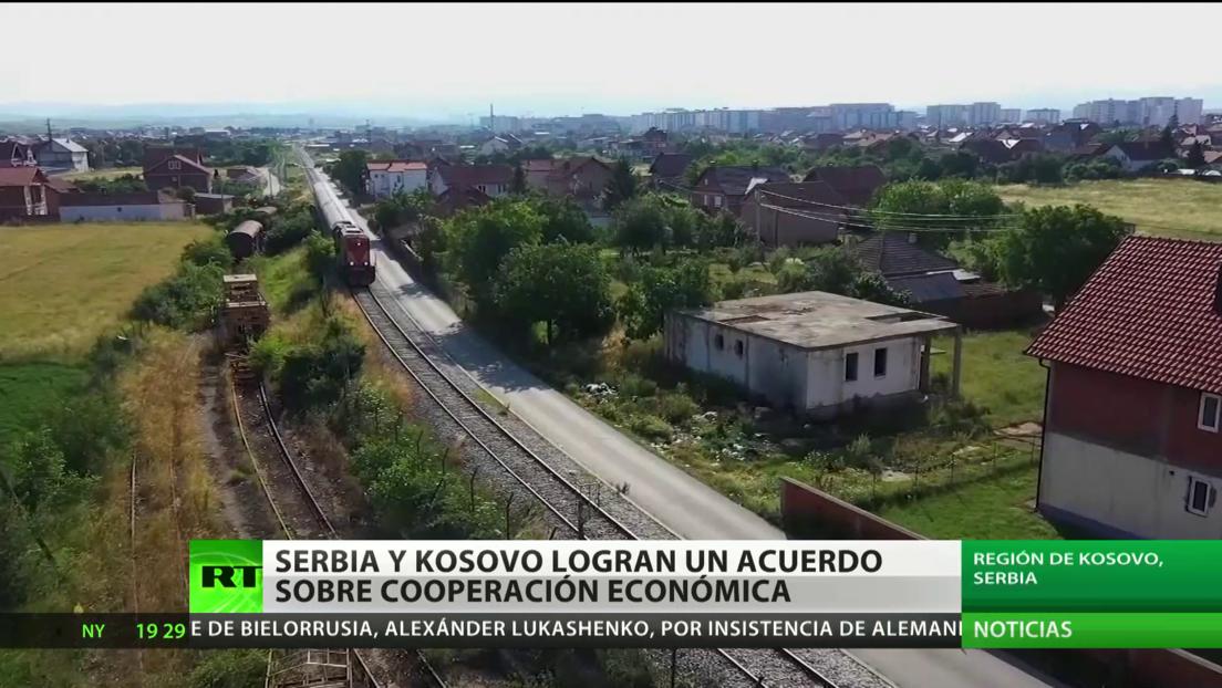 Serbia y Kosovo firman un acuerdo sobre cooperación económica