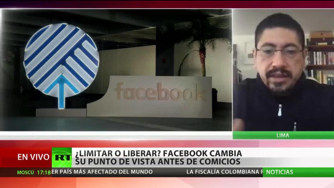 """Experto: """"Facebook debe analizar las legislaciones locales, más aun en tiempos electorales"""""""