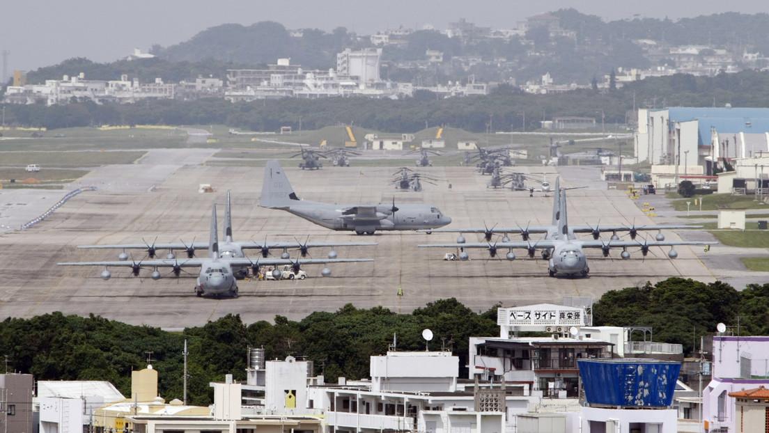 EE.UU. revela que la contaminación por espuma antiincendios en la isla japonesa de Okinawa fue provocada por una barbacoa de sus militares